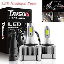 2PCS 6000K 35W Waterproof D1S D3S HID Xenon Bulbs Replacement LED Headlight Bulb