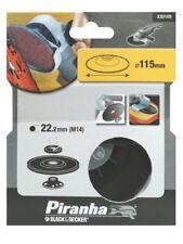 Black & Decker Piranha 115 X 22mm M14 amoladora angular nailon apoyo almohadilla