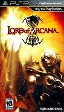 Lord of Arcana (Sony PSP, 2011) BRAND NEW Factory Sealed