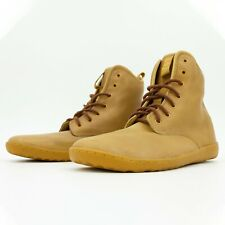 NEW Vivobarefoot Scott II - Mens Brown Tan Leather Barefoot Shoes Combat Boots