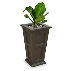 Mayne Fairfield 5829C Tall Planter 28-Inch by 16-Inch by 16-Inch