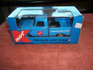 """K-MART ERTL """"BLUE LIGHT IS BACK""""  DIE CAST PICKUP TRUCK KMART 1965 FORD"""