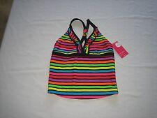 xhilaration girls tankini swimsuit top size L (10-12)  NWT