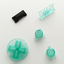 New Replacement Clear Mint Green Colour Buttons Nintendo Game Boy Color GBC Mod