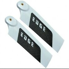 EDGE 86mm Premium CF Tail Rotor Blades - LE-86 - ORIGINAL, SHIPS FROM USA