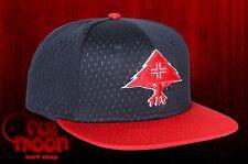 New LRG Spring Training Navy Mens Snapback Cap Hat