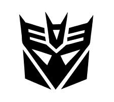 Decal Vinyl Truck Car Sticker - Transformers Decepticon Symbol
