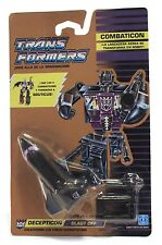 1986 Hasbro Transformers G1 Combaticons BLAST OFF Mint On Sealed euro card MOSC