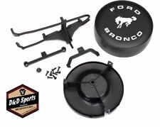 Traxxas 8074 Spare Tire Mount/ Mounting Bracket Tire Cover : TRX-4 Ford Bronco