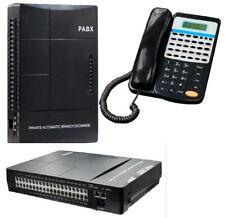 Centralino Telefonico Analogico  8 linea 32 interni, FAX ,IVR + telefono operato