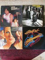 ROCK vinyl LP lot - John Cougar - The Rockets - Styx - Journey - Heart - Kansas