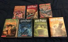 Harry Potter Complete Matched Paperback Book Lot 1-7 J.K.Rowling FREE SHIP