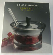 Cole & Mason Boxed Sauce Pot avec Cuillère. cuisine. Four Seasons Collection