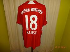 "FC Bayern München Original Adidas Trikot 2007/08 ""-T---Home-"" + Nr.18 Klose Gr.M"