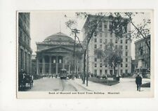 Bank Of Montreal & Royal Trust Building Montreal Vintage Postcard Canada 516a