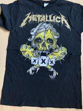 T-shirt Metallica Fillmore yellow