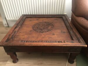 solid wood Indian Style Coffee Table