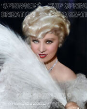 MAE WEST IN BELLE OF THE 90'S (#2) BEAUTIFUL SEXY COLOR PHOTO BY CHIP SPRINGER