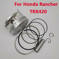 For Honda Rancher Car Standard Bore Piston Gasket Ring Rebuild Kit With Gaskets