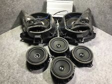 BMW X5 F15 HIFI AUDIO SYSTEM AMPLIFIER SPEAKERS SUBWOOFERS SET KIT