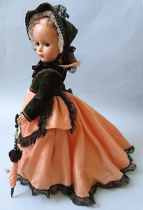 """14"""" GODEY LADY DRESSED FOR WALKING - FROM 1949-1950  PREMIUM SET"""
