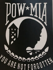 POW MIA BUMPER STICKER ZAP DECAL PIN UP VIETNAM US ARMY NAVY AIR FORCE MARINES