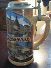 "1990 CLASSIC ANHEUSER-BUSCH STEIN ""ST. LOUIS BREWERY... CIRCA 1850'S"""
