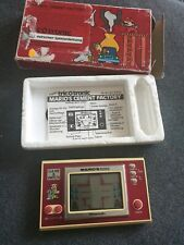 Tricotronic Nintendo Game & Watch Mario's Cement Factory New Wide screen