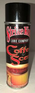 Famous Very Rare Strike King Lure Company Coffee Scent Fish Attractant 6 oz (1)