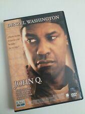 DvD JOHN Q  con denzel Washington ¿hasta donde llegarias por la vida de tu hijo?