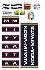KOGA MIYATA PRO-RACER 1977 FRAME DECAL SET
