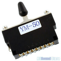 NEW - YM-50 5-way Pickup Lever Switch for Japan Fender® Ibanez® Guitar Bass MIJ