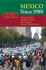 Mexico since 1980 (The World Since 1980)  Haber, Stephen  VeryGood  Book  0 Pape
