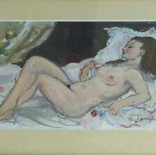Spengler Clemens 1903 München - Aying Paris AKT Erotik Nackte Impressionismus