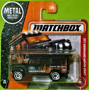 2017 MATCHBOX HEROIC RESCUE #84/125 - LAND ROVER DEFENDER 110 - SHORT CARD