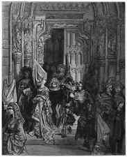Gustave Dore gigantón Pantagruel 031 A4 Foto impresión