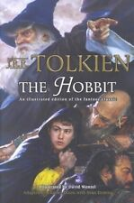 The Hobbit: An Illustrated Edition of the Fantasy Classic by Charles Dixon, J. R. R. Tolkien, Sean Deming (Paperback, 2001)