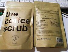 2 - The Coffee Scrub - 100% Organic & Natural Recipe - Coconut - Body Scrub