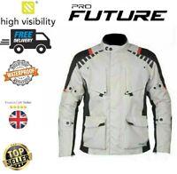 Motorcycle Waterproof Cordura Textile Jacket Motorbike CE Armours
