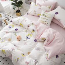 Anime Sailor Moon Bedding Cotton Duvet Quilt Cover Set Pillowcase Quilt Cover
