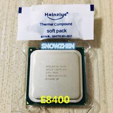 Intel Core 2 Duo E8400 CPU 3.0 GHz 6MB 1333MHz Dual-Core 775 Socket T Processor