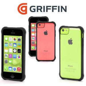 Genuine Griffin Survivor Clear Shock Drop Bumper Case Cover for Apple iPhone 5C