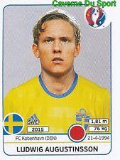 LUDWIG AUGUSTINSSON SWEDEN FC.KOBENHAVN RARE UPDATE STICKER EURO 2016 PANINI