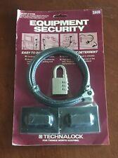 New Technalock Equipment Security Lock S360B Easy to Install Theft Deterrent