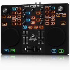 BEHRINGER CMD Studio 2A Dual Deck DJ MIDI Controller USB Interface + WARRANTY