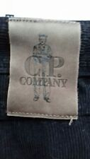 CP COMPANY STONE ISLAND CORDS JEANS  BLACK LARGE XL SIZE 36 / 38 80S CASUALS