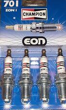 X4 spark plugs Champion eon1 19mm reach .Genuine champion parts