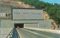Postcard Fort Pitt Tunnel Pittsburgh PA