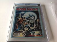 MARVEL PREVIEW 21 CGC 9.6 WHITE PGS PRE DATES MOON KNIGHT 1 COOL MARVEL MAGAZINE