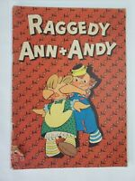 Ragged Ann + Andy #1 Dell Comics 1946 Golden Age